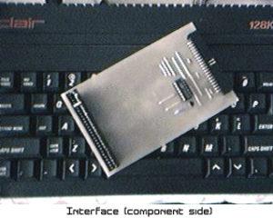 Original Simple 8-bit IDE Interface (Casio QV-10 Image)