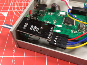 Rotary Encoder Module Installed